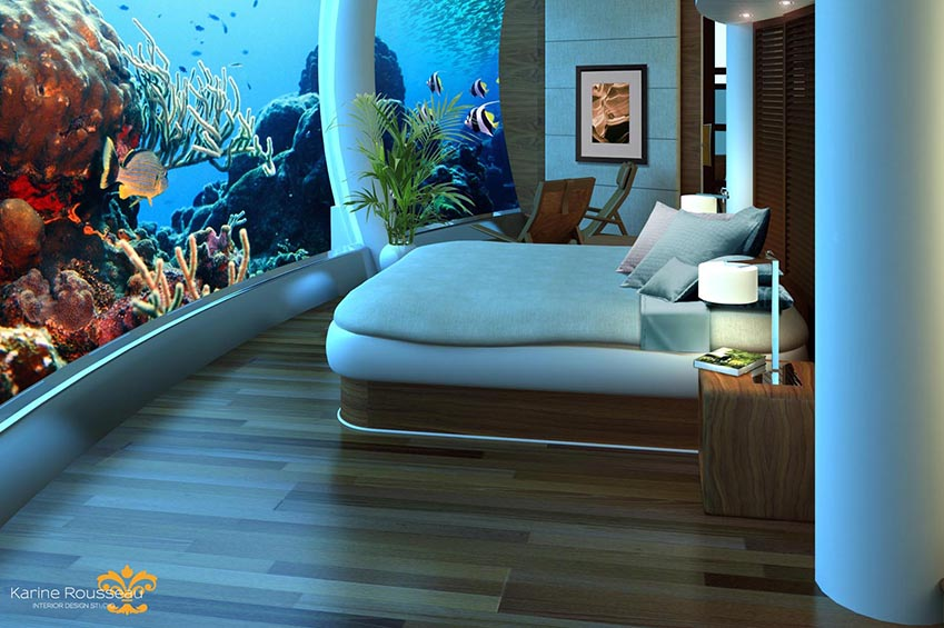 Underwater hotels New Hotel Trends and Worldwide Concepts
