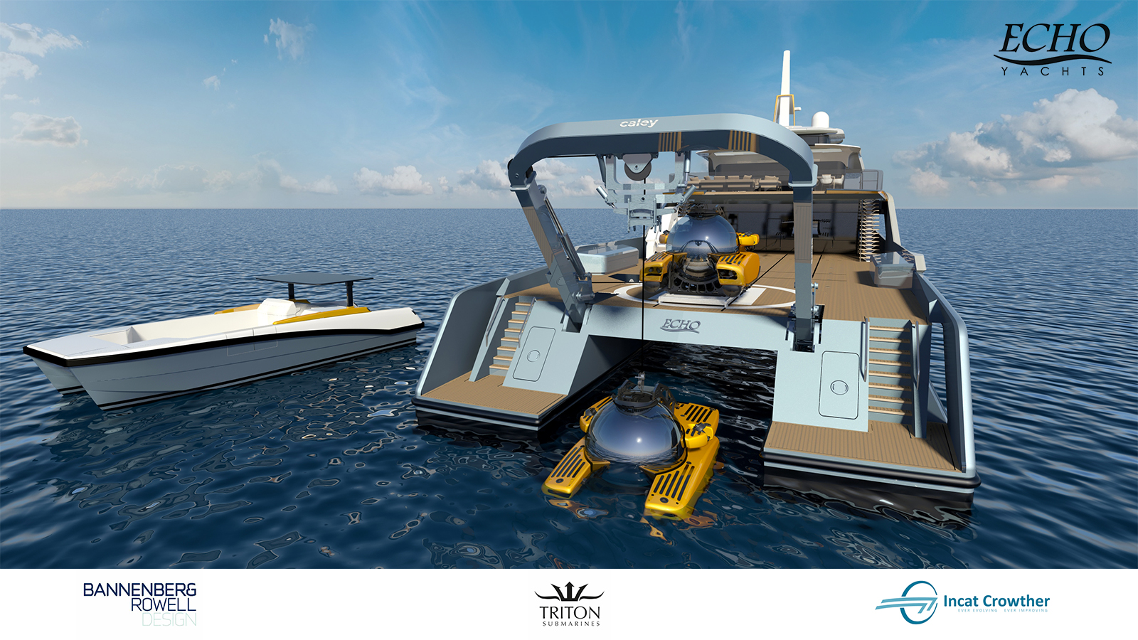 Project Echo Adventure Yacht