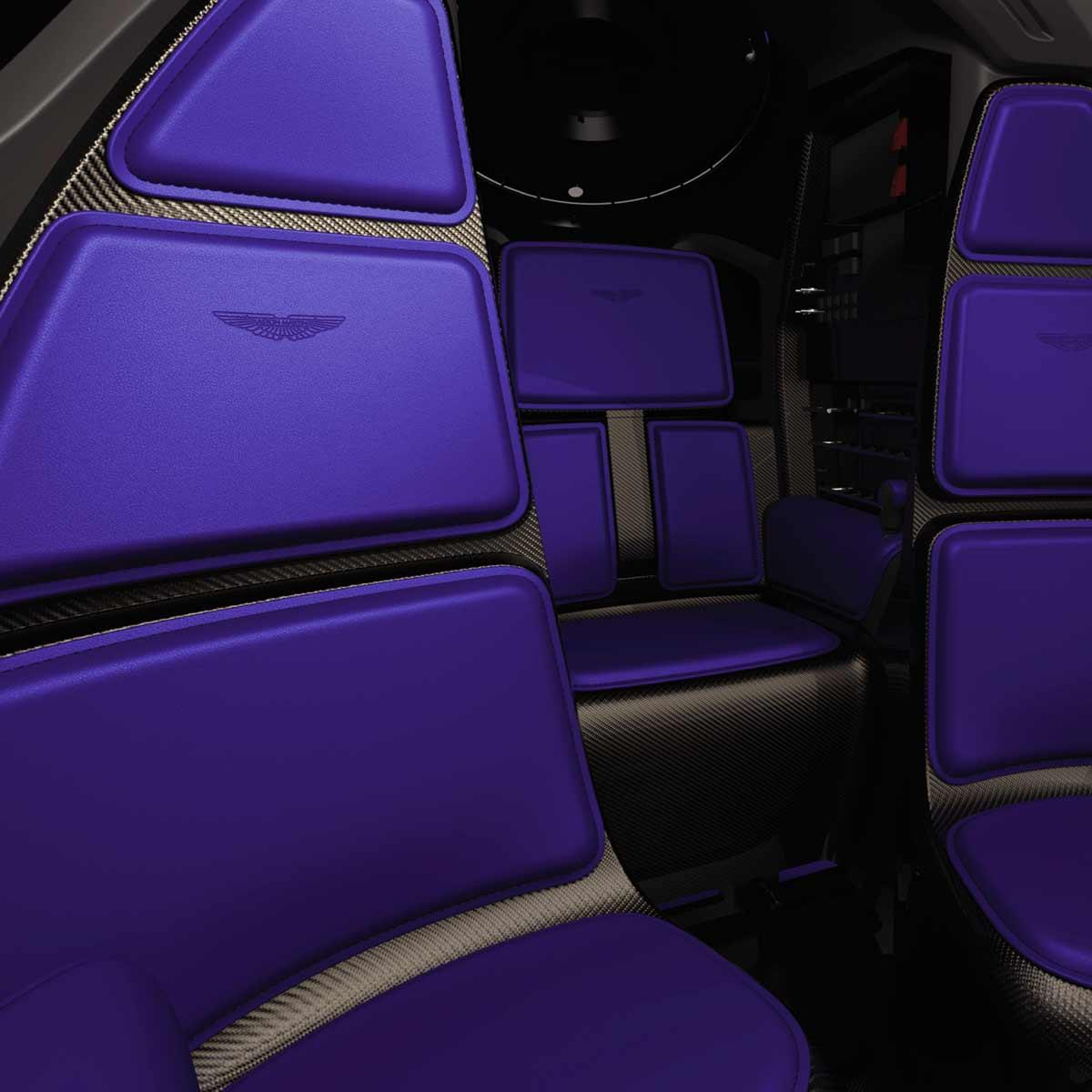 Project Neptune's fine-leather interior