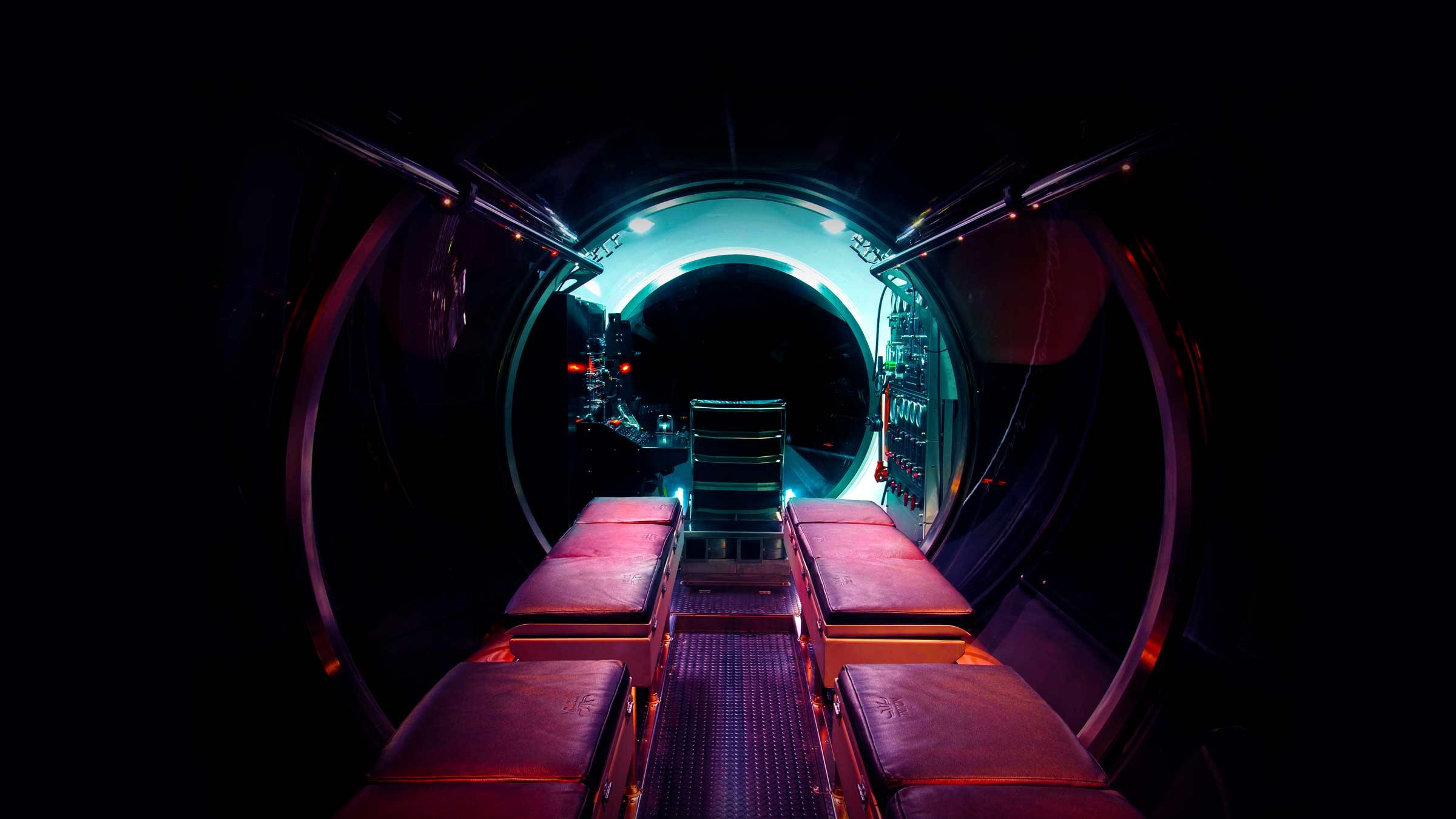 Triton DeepView interior