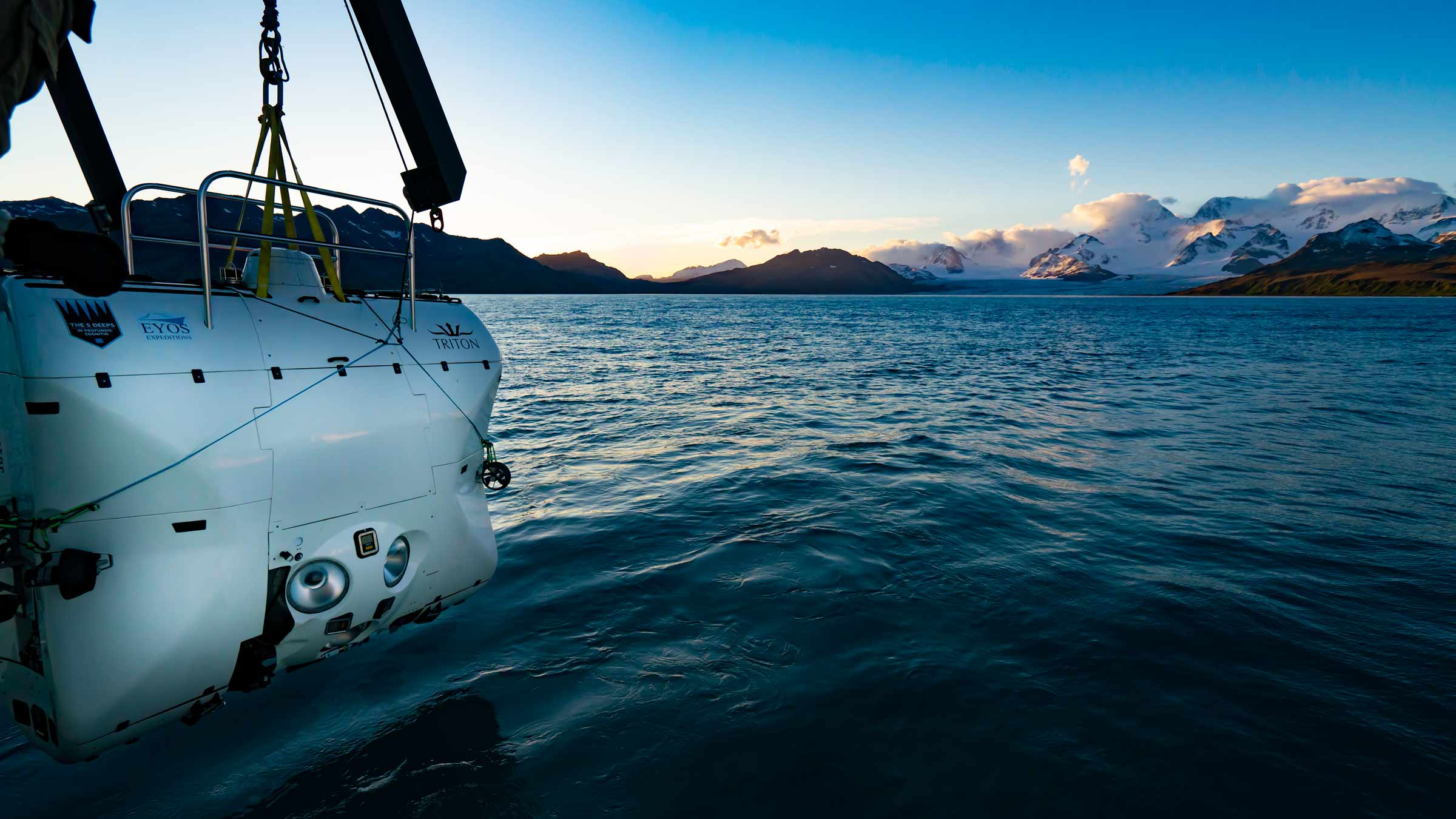 Triton 33000/2 launches in Southern Ocean. Richard Varcoe
