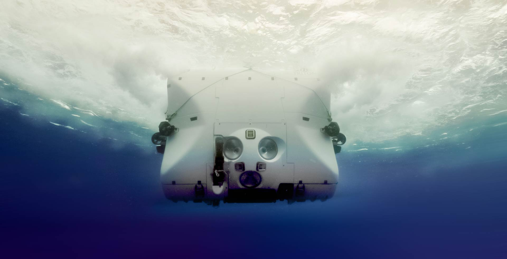 TRITON 33000/2 - Full Ocean Depth certified submersible