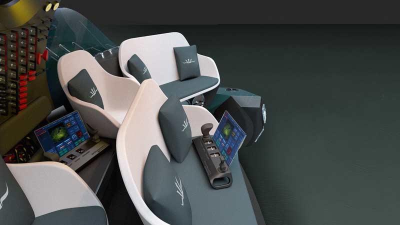 Triton 660/9 spacious interior