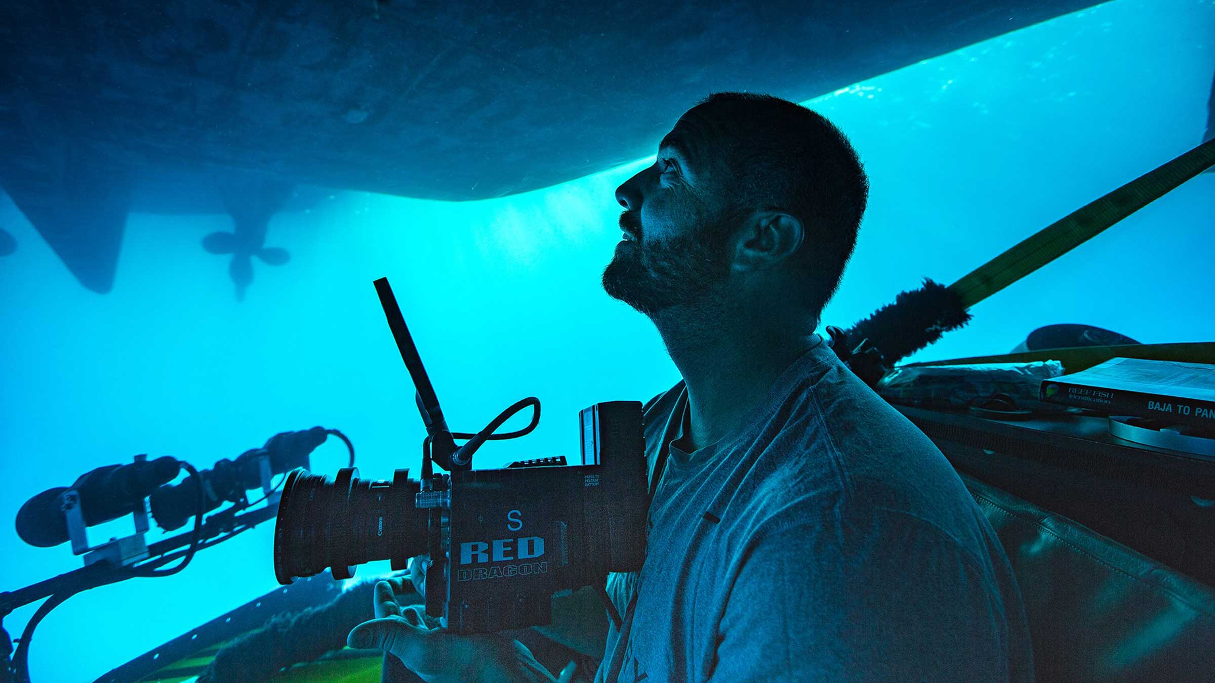 RED digital cinema filmed with a Triton submersible