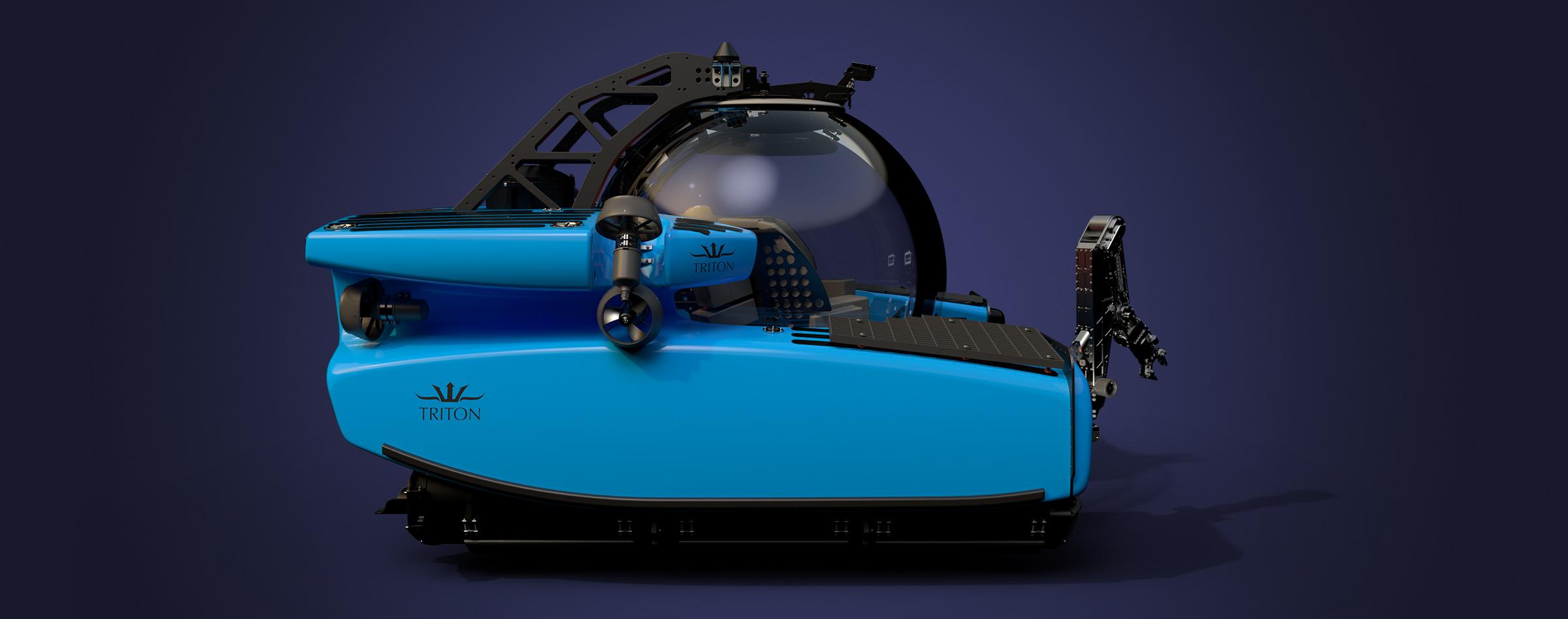 Triton's flagship professional submersible - The TRITON 3300/3 MKII