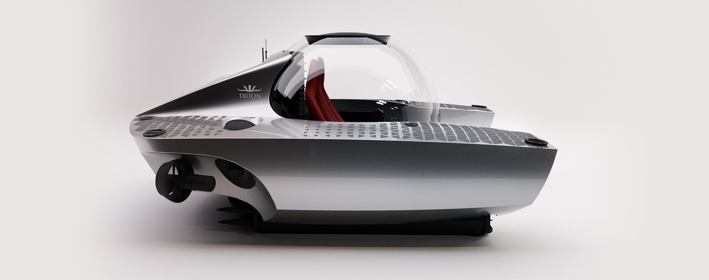 Triton 660/2's sleek exterior